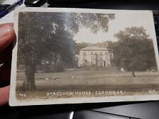 CORBRIDGE VINTAGE POSTCARD  AUTHENTIC ITEM  THD