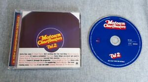 Motown Chartbusters Vol. 2 UK CD Album From 1997 VG/Ex Funk Soul