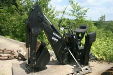 "Bradco 609 Hydraulic Skid Steer Backhoe Attachment 12"" Bucket"