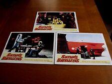 "1958 ""Satan's Satellites"" Lobby Cards  Lot of 3 11 X 14 Sci Fi Horror"