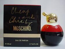 Moschino Cheap and Chic Eau de Parfum 50 mL splash (1.7 OZ) Rare