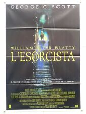 L'ESORCISTA III horror W.P.Beatty con C.Scott Flanders Dourif manifesto 1990