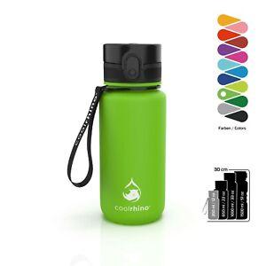 coolrhino Trinkflasche 350ml Wasserflasche Sportflasche Flasche Sport BPA frei