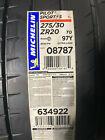 2 New 275 30 20 Michelin Pilot Sport 4s Acoustic Tires