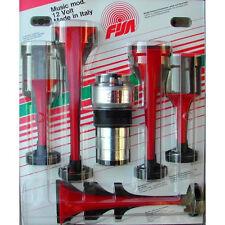 5 Klang Fanfare FISA La Cucaracha Lufthorn / Hupe / Sirene - 12V - Kompressor