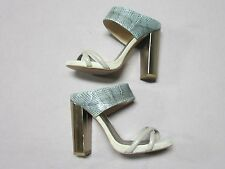 HOSS INTROPIA ANTHROPOLOGIE WOMENS FAUX SNAKE HEELS SHOES SIZE 6 NEW SPAIN MADE