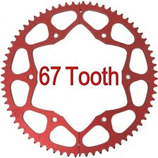 67T Tooth #35 Chain Split Sprocket Two 2 Piece Gear Drift Trike Go Kart Racing