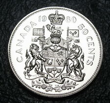 RCM - 1980 - 50-cents- Coat of Arms - SPECIMEN - Uncirculated