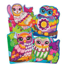 Mosaic Craft Set Pictures Owls Owl Children Small Plate