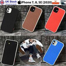 (6 COLOURS) VAN Slim Waffle Shoe Sole Rubber Case iPhone 8 & SE 2020 UK Seller