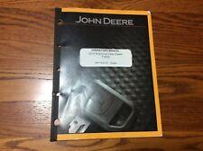 John Deere 2010 Tractor OMT14692 Row Crop diesel Operators Manual book