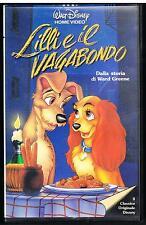 LILLI E IL VAGABONDO - WALT DISNEY  - 1990 - VHS