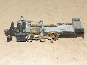 Mantua HO Parts 0-4-0 Shifter Chassis w/ Full Valve Gear