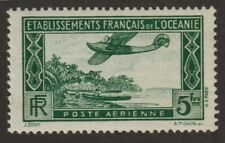 French Polynesia 1934  #C1 Air Post Stamp - MNH