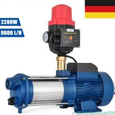 1100W Gartenpumpe Kreiselpumpe 6000 L//H Max Förderhöhe 90m Jetpumpe Pumpe