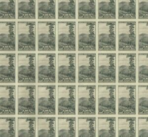 765 GREAT SMOKEY MOUNTAIN National Park impef 10 cent Full Mint Sheet of 50 MNH