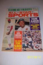 1971 All Star ST LOUIS Cardinals BOB GIBSON No Label ATLANTA Braves HANK AARON