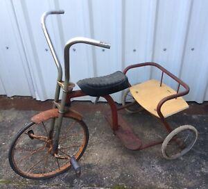 Vintage 1950's Kids Tricycle