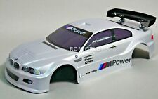 1/10 RC Car BODY Shell BMW E46 M3 200mm *PRE- FINISHED* Silver