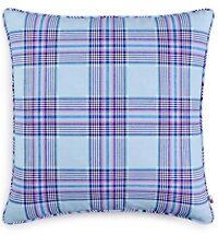 Tommy Hilfiger Santa Clara Plaid Blue Multi 20x20 Decorative Pillow