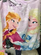 Girl's Beach Hooded Poncho Towels Disney Frozen