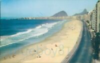 Pan Am Pan American World Airlines Advertising Brazil Copacabana Beach Rio de ja