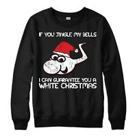 Jingle My Bells Jumper Festive Christmas Offensive Unisex Adult Kids Jumper Top