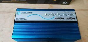 Aims Power 1000 Watt Pure Sine Inverter 1000W/ 2000W Surge