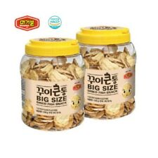 Roasted Dried Fish Chips Korean Snack Appeti Munchies Beer Chewin 290g*2ea Party