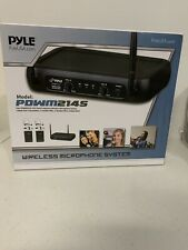 PYLE PRO VHF Fixed-Frequency Wireless Microphone System PDWM2145