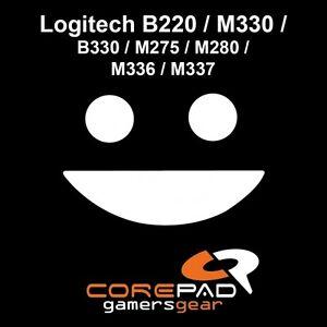 Corepad Skatez Logitech B220 M330 B330 M275 M280 Souris Pieds Patins Téflon