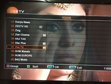 Channel list for F5, Openbox Libertview F5s etc