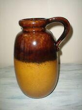 """West Germany  484-27 Brown 10 3/4"""" Jug Vase German EXCELLENT"""