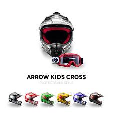 ⛑ ARROW AKC-49 CROSS CASQUE POUR ENFANTS ⸺ KIDS ENDURO MX SPORT AG-49 ⸺ XS – XL