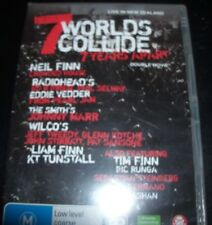 7 Worlds Collide (Neil Finn) Live + Documentary (Australia All Region) DVD - NEW