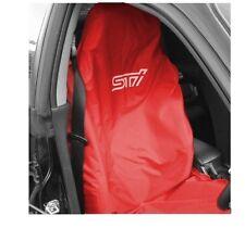 Subaru Impreza Sti Cubierta De Asiento Rojo Con Blanco Sti logotipo