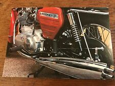 Vintage 1970 BSA Rocket 3 750cc National Motorcycle Museum Postcard (C)
