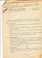 circolare generale bergonzoli 1935  brigata emanuele filiberto testa di ferro