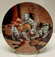 "Hamilton Collection 1993 ""Where's the Fire"" by Jim Lamb Collectors Plate (1693E)"
