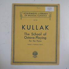 piano KULLACK school of octave playing section 1