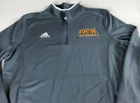 Kennesaw State Owls Jacket Womens Large Adidas ClimaLite Volleyball Running Grad