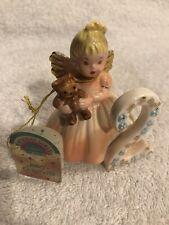 Josef Originals - 2nd Birthday - Angel Figurine - Age Two with Tag - Vintage