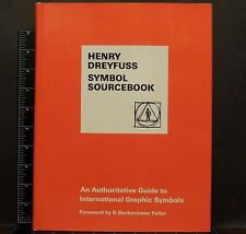 Henry Dreyfuss SYMBOL SOURCEBOOK 1972 POSTER SOURCE BOOK HC VG cond Art Design