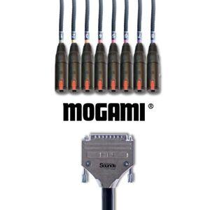 D-Sub Loom DB25 to Neutrik Jack TRS Female NJ3FC6   Multicore   8 Way 1 M Mogami