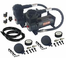 Viair 400 Air Compressors Black Dual Value Pack with Pressure Switch & Relay