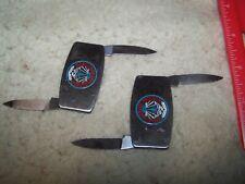 "Israeli Airbase Program ""Lot of 2"" Mini Knife With File"