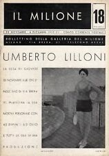 LILLONI Umberto, Umberto Lilloni