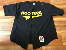 Vintage Hooters Restaurant Kansas City Baseball usa made Jersey Xxl
