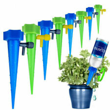12 PCS Plant Spikes System with Slow AUTOMATIC WATER IRRIGATION CONTROL SYSTEM