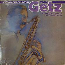 STAN GETZ: A Song After Sundown-SEALED1987LP ARTHUR FIEDLER/JIM HALL/GARY BURTON